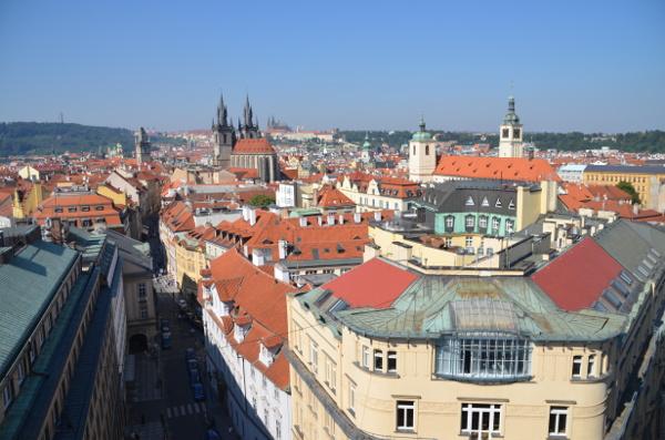 Prag und die hinterste Ecke von Tschechien